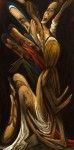 'Deposizione-#3-',-Caravaggio-Project,-2008,-Oil-on-canvas,-24-x-48-inches.-2